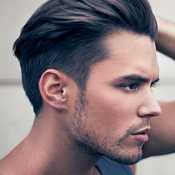 Прически на средние волосы мужчине