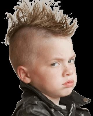 Стрижка для мальчика Ирокез в Детской парикмахерской Я в Москве