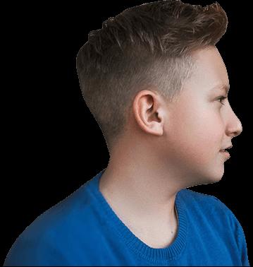 Стрижка для мальчика Бокс в Детской парикмахерской Я в Москве