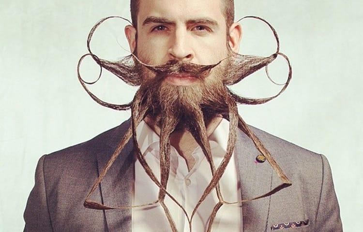 """Борода как паук. Барбершоп или мужская парикмахерская """"Я"""" в Москве. Детский барбершоп."""
