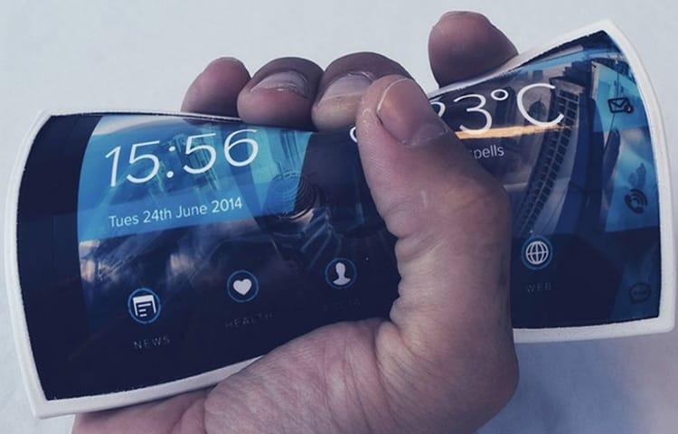 гибкий-смартфон