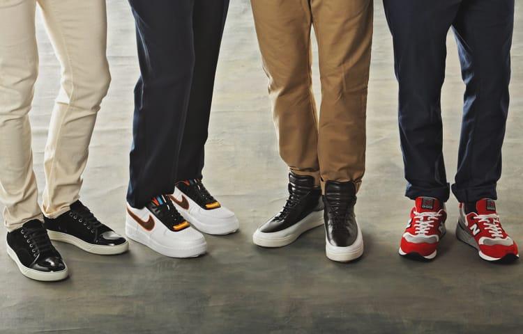 История кроссовок