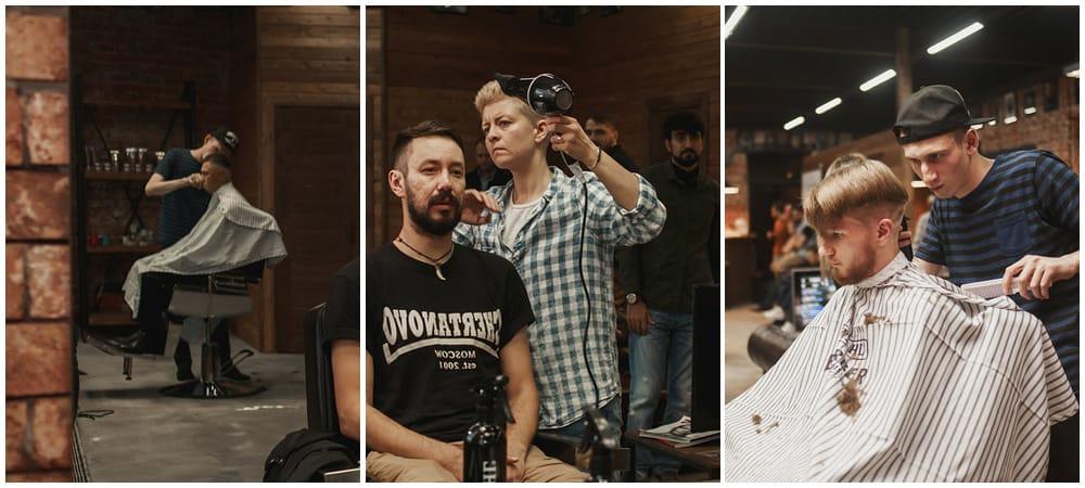 Стиржка и оформление бороды