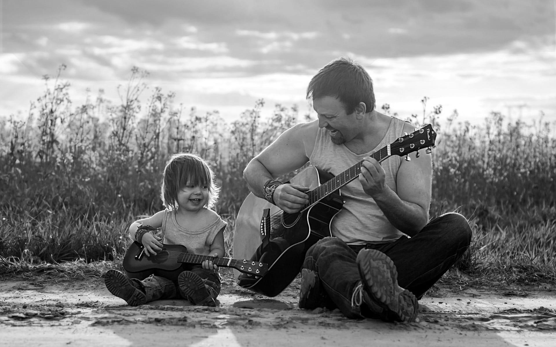 Стрижка отец и сын