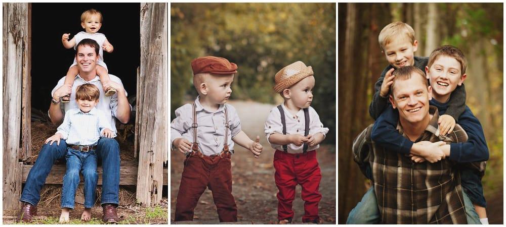 Где постирчь двух мальчиков