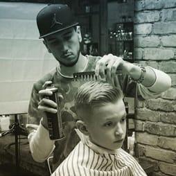 Детская стрижка мальчика  в Детской парикмахерской Я в Москве