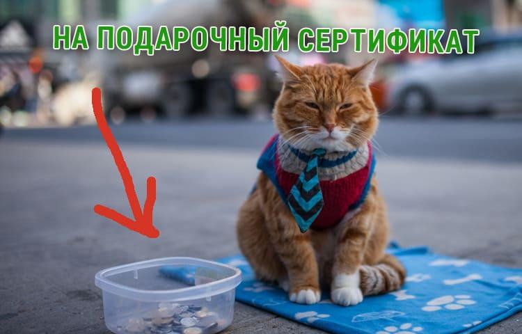 Сертификат в барбершоп на стрижку Москва