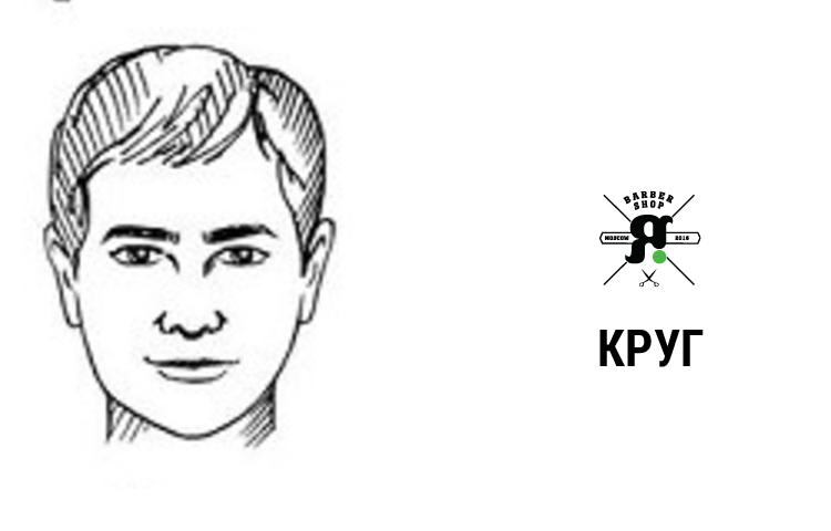 Как правильно подобрать мужскую стрижку-круглое лицо