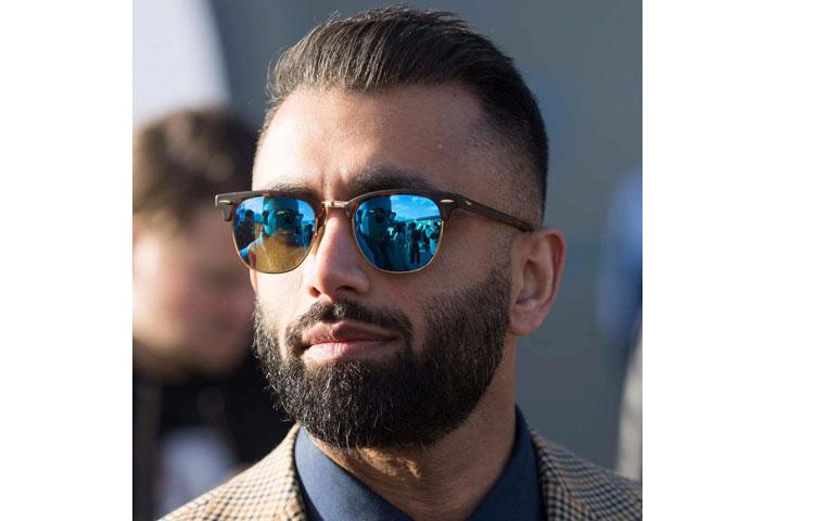 Как коррекция бороды поможет «исправить» форму овального лица
