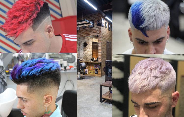 Какая мужская стрижка лучше всего идет под окрашивание волос?