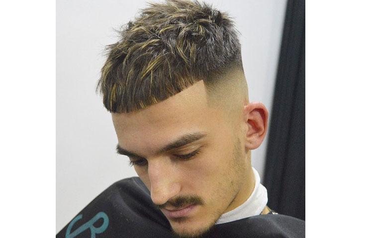 Какая мужская стрижка лучше всего идет под окрашивание волос? Стрижка кроп