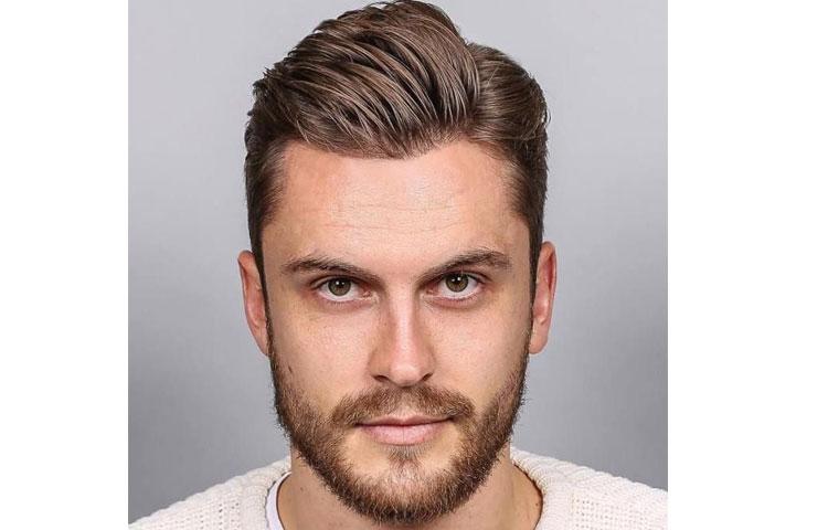 Какая мужская стрижка лучше всего идет под окрашивание волос? Стрижка Side Part