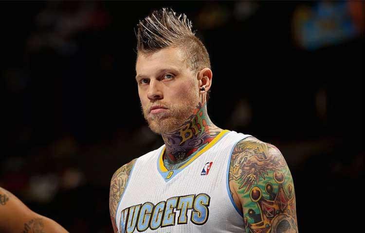 Самые эпатажные прически звезд мирового спорта - Крис Андерсен