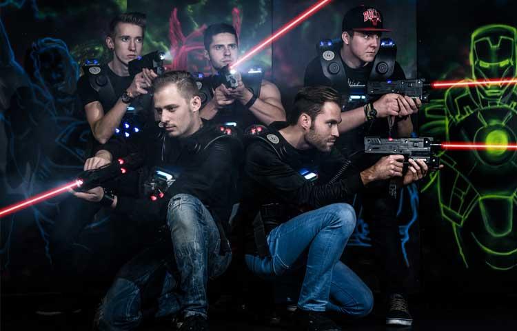 Лазертаг в Москве - отдых для мужской компании