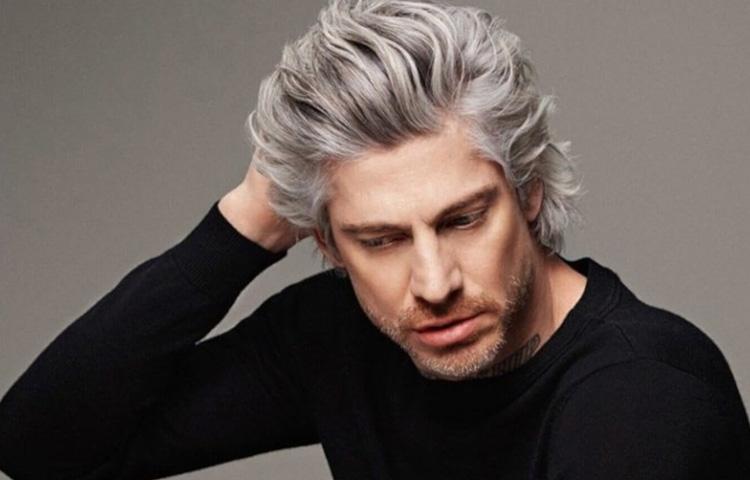 Как избавиться от седины: просто покрасить волосы мужчине или сделать камуфляж