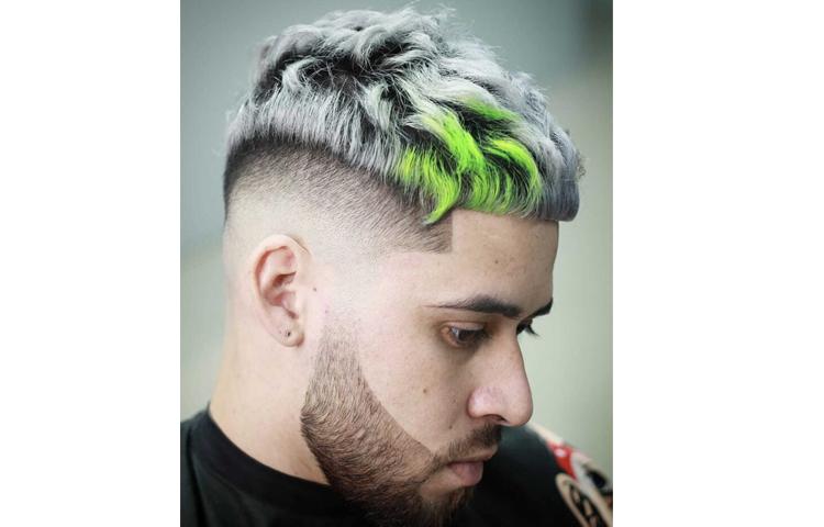 Мужское окрашивание волос: