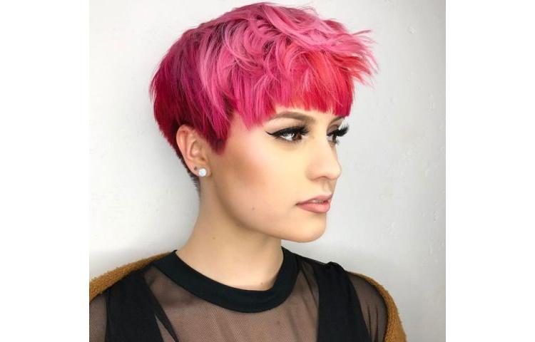 Окрашивание волос для женщин на короткую стрижку 2021