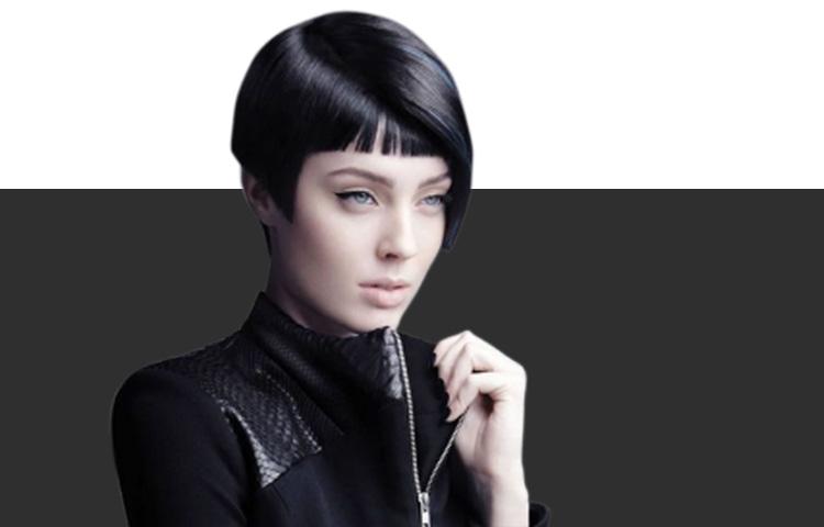 Окрашивание волос в роковой черный: чем гуще, тем лучше!